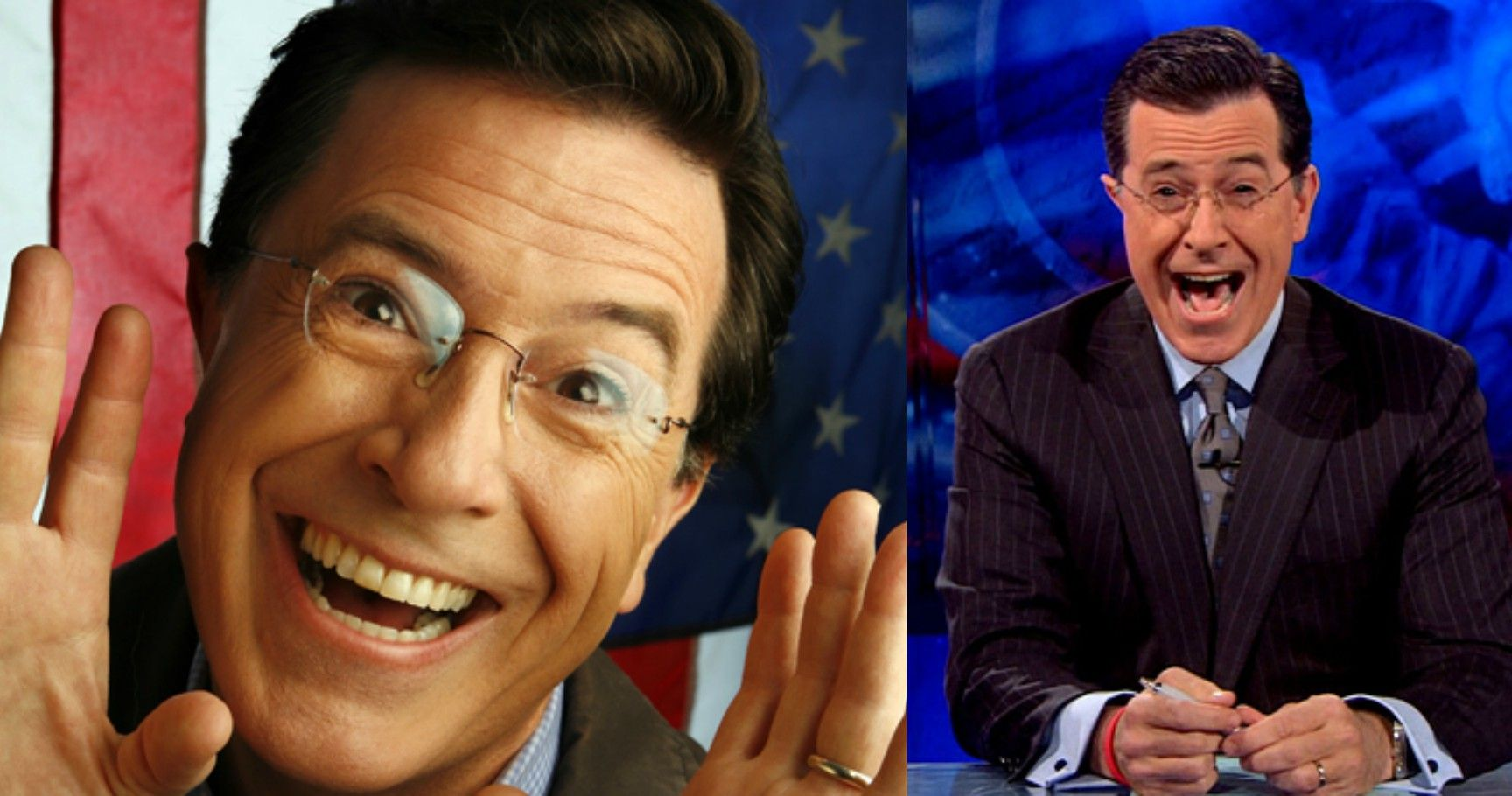 15 Hilarious Times Stephen Colbert Couldn't Keep It Together Over His Own Jokes