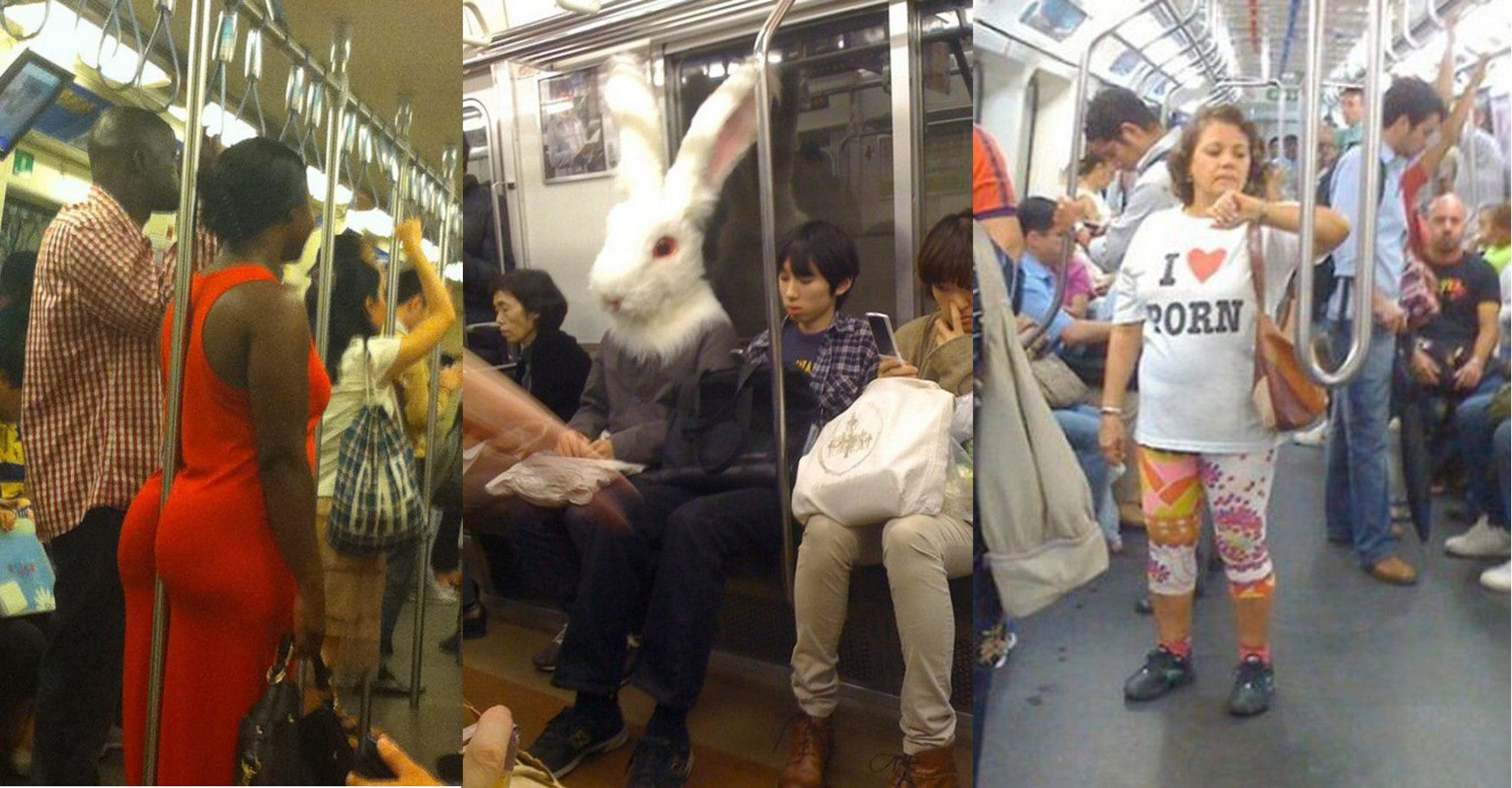 15 Disturbing Photos That Only Make Sense To People Who Take Public Transit