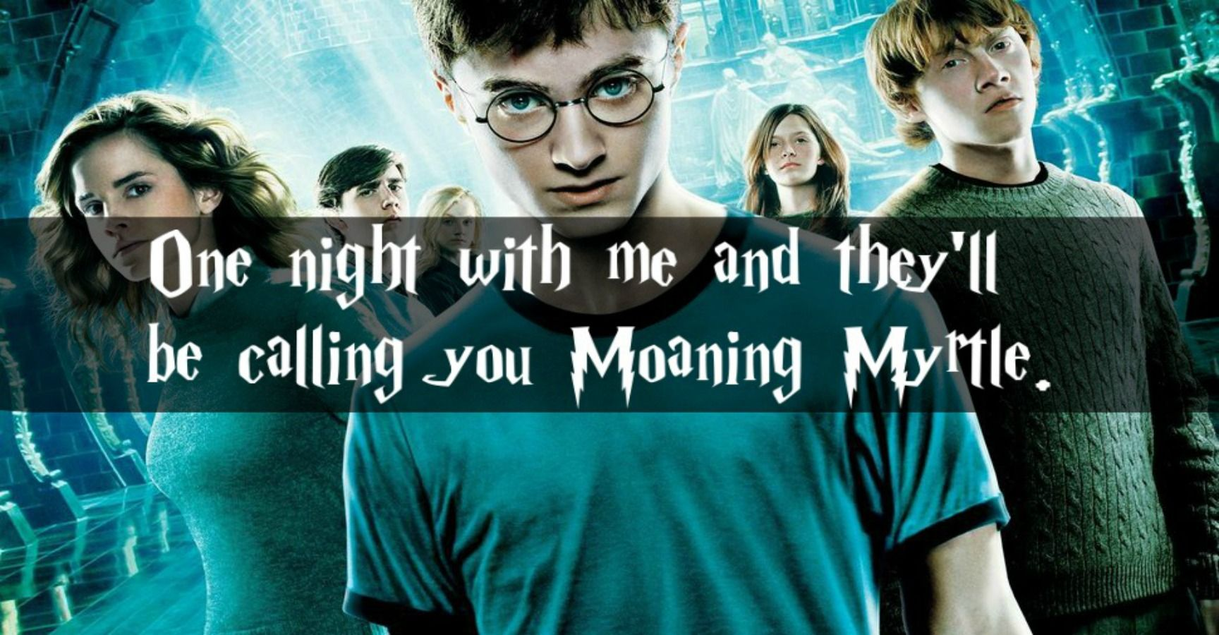15 'Harry Potter' Pickup Lines That Will Absolutely Destroy