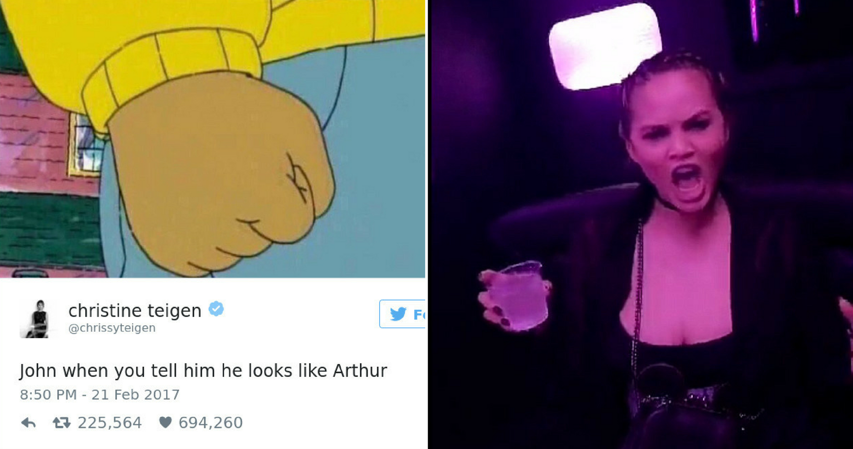 15 Times Chrissy Teigen Was The Queen Of Shade