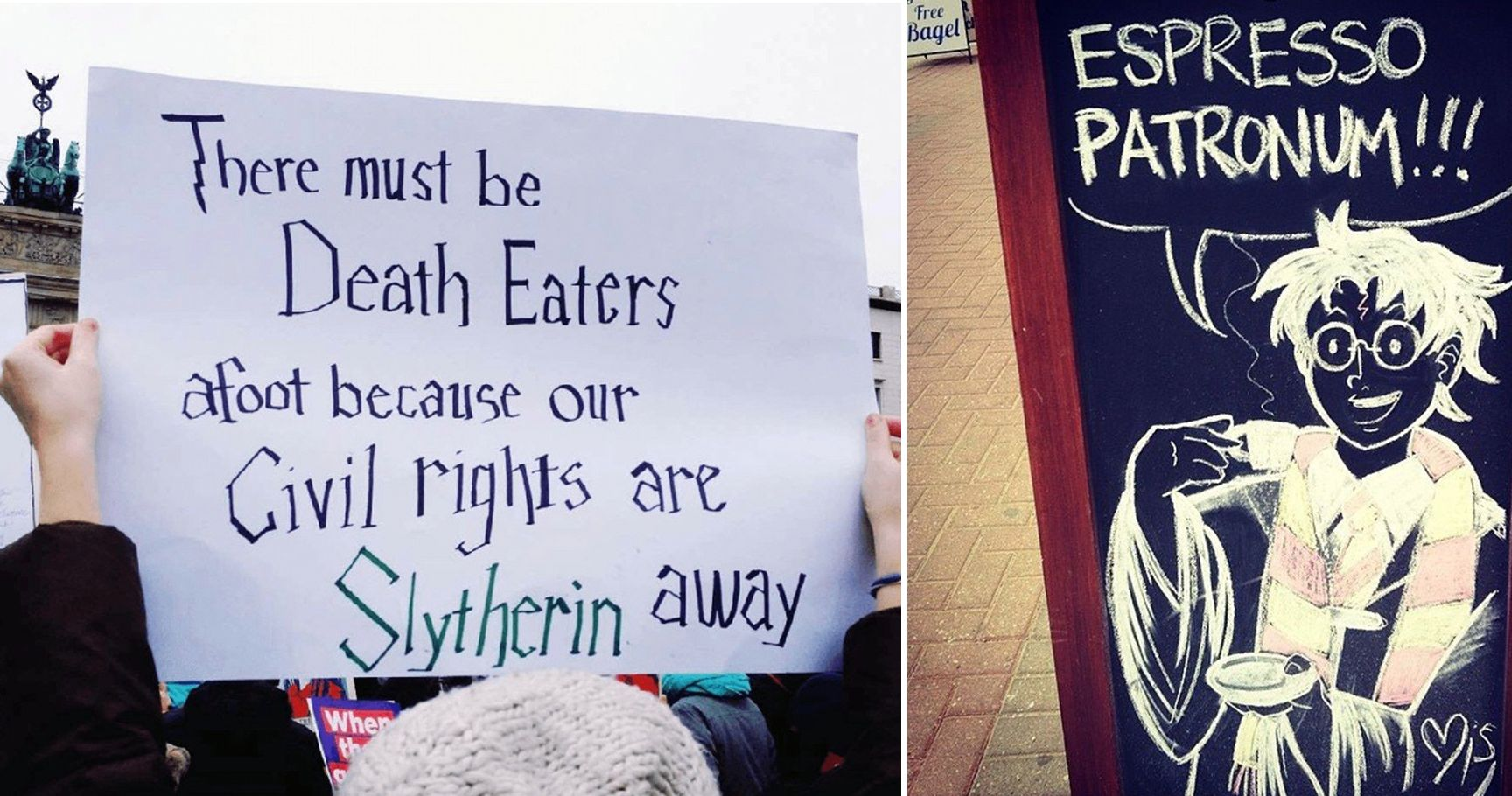 15 Harry Potter-Inspired Signs That Will Make Any Fan LOL