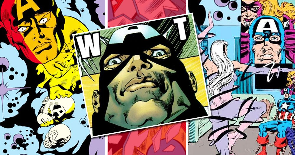 15 Seriously WTF-Worthy Moments From 'Captain America' Comics
