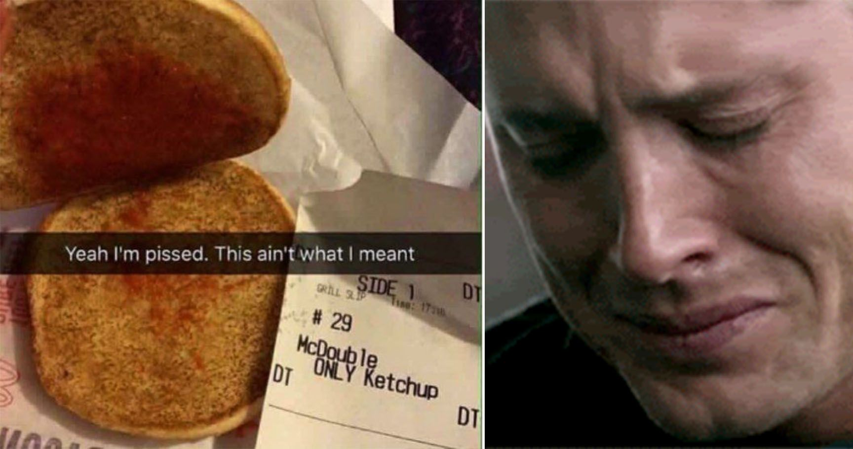 15 Misunderstood Food Orders That Will Make You Ugly Cry