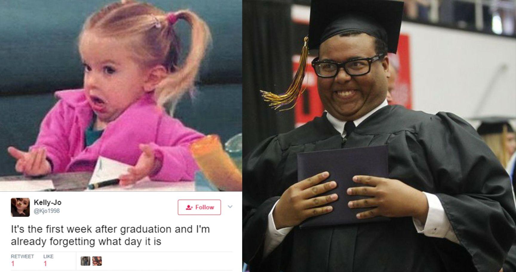 15 Graduation Tweets That Are True AF