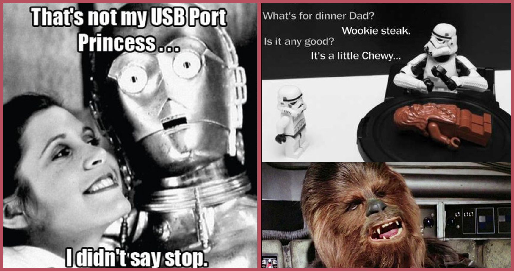 STAR wars meme hilarious and inappropriate 'star wars' memes thethings