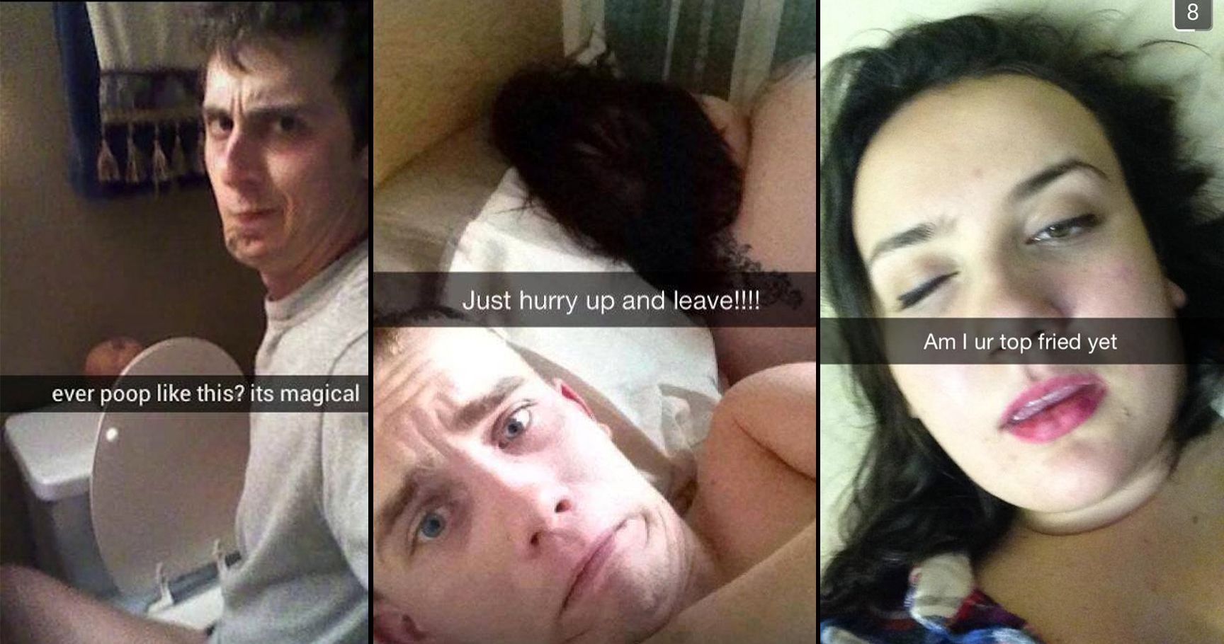 15 Jaw-Dropping Wasted Snapchats That Are So Damn Regrettable