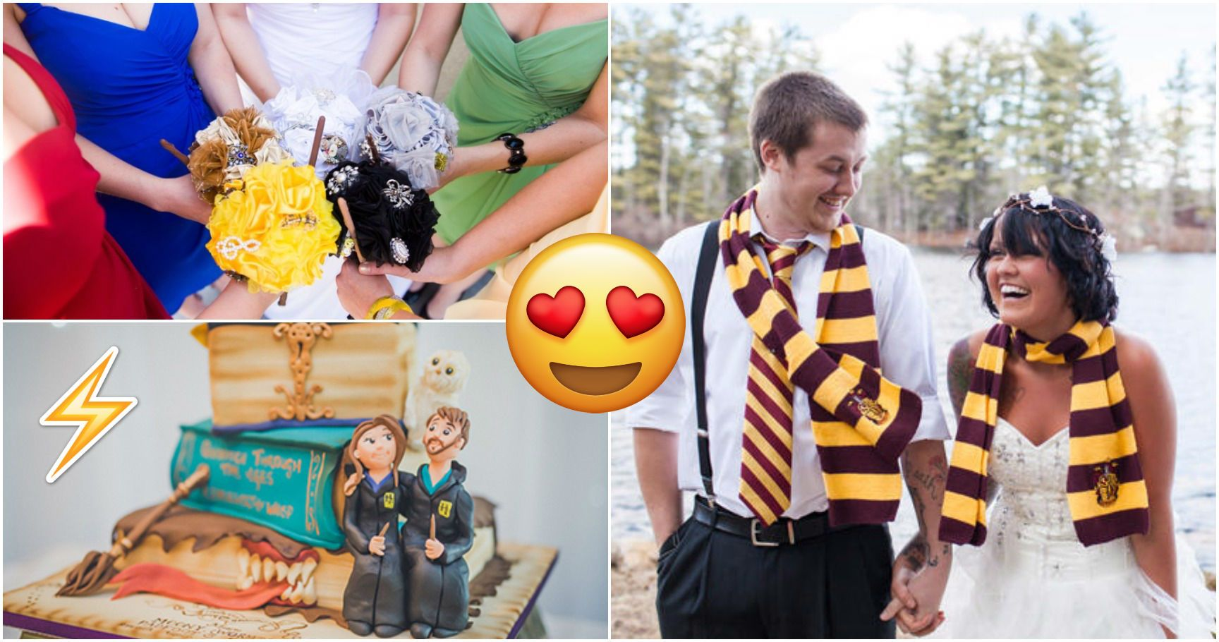 15 Harry Potter-Themed Weddings That Will Cast A Spell On You
