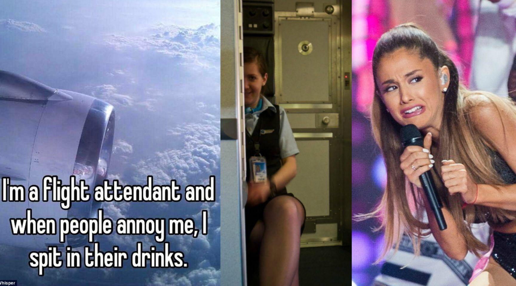 15 Utterly Cringeworthy Whisper Confessions From Flight Attendants