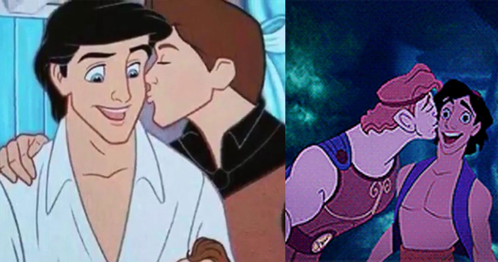 What If These Disney Characters Were Gay? 15 Disney Characters Reimagined