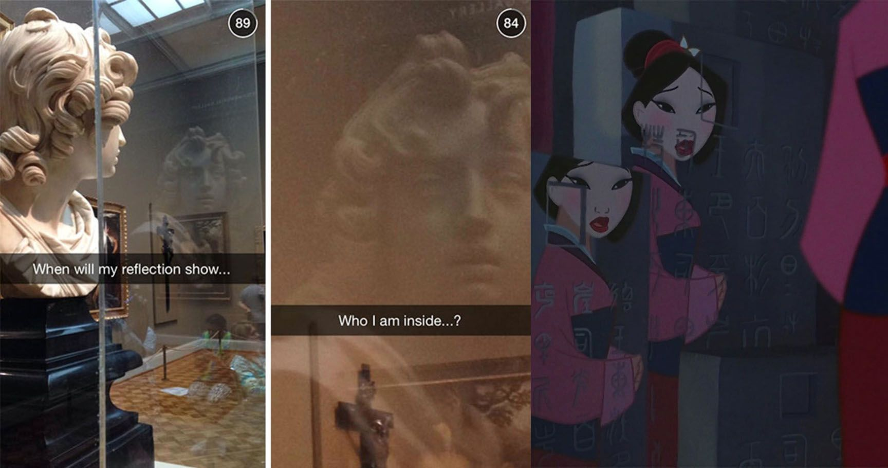 15 Hilarious Times Snapchatters Made Museums Less Boring