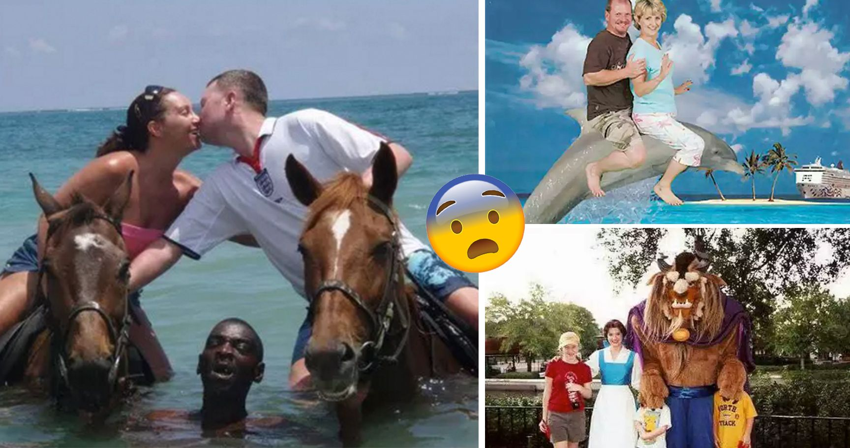 15 Hilariously Disturbing Family Photo Fails That Prove The World Is A Scary Place