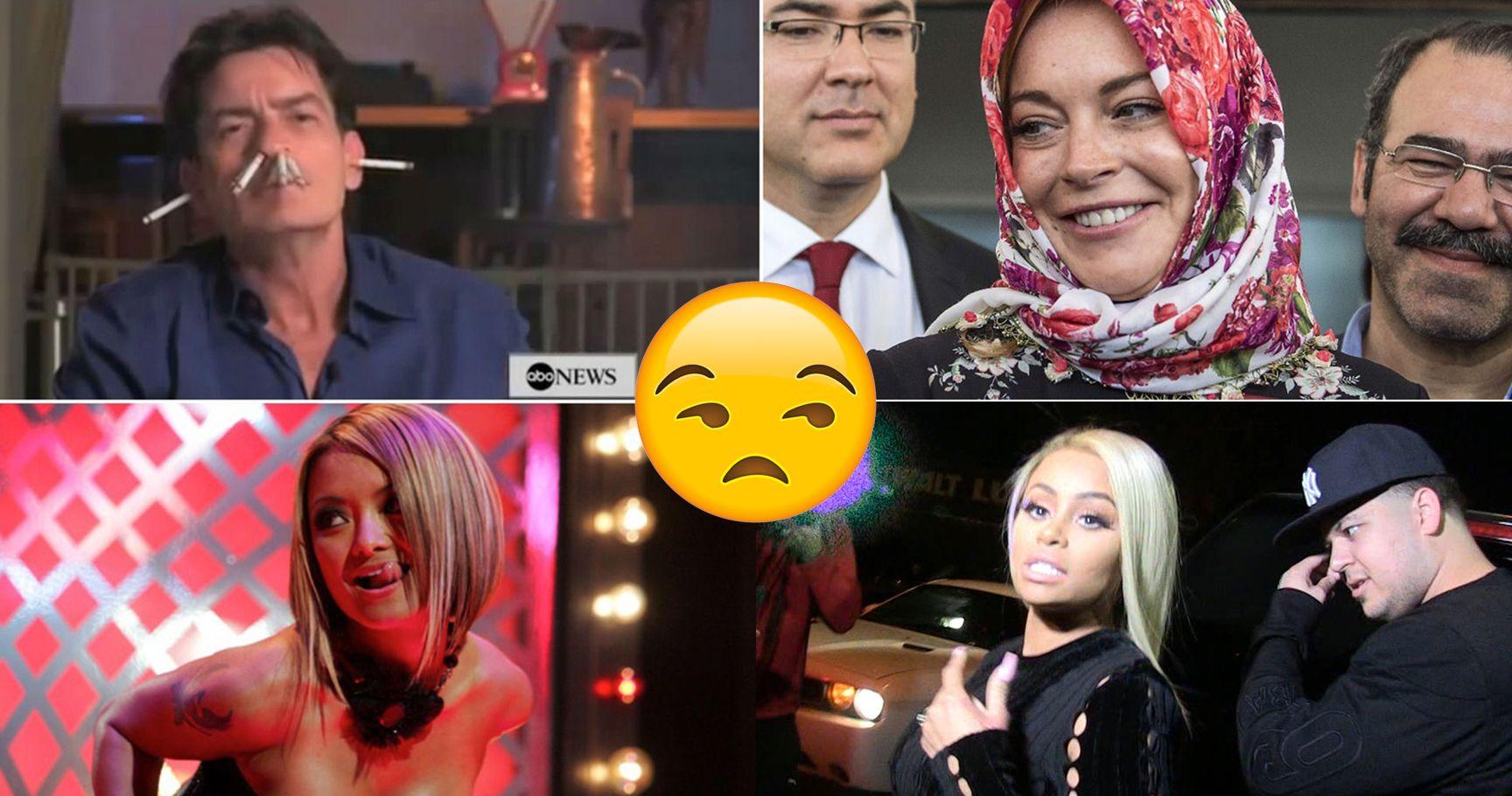 15 Scandalous Celebs Who Totally Deserve Their D-List Status