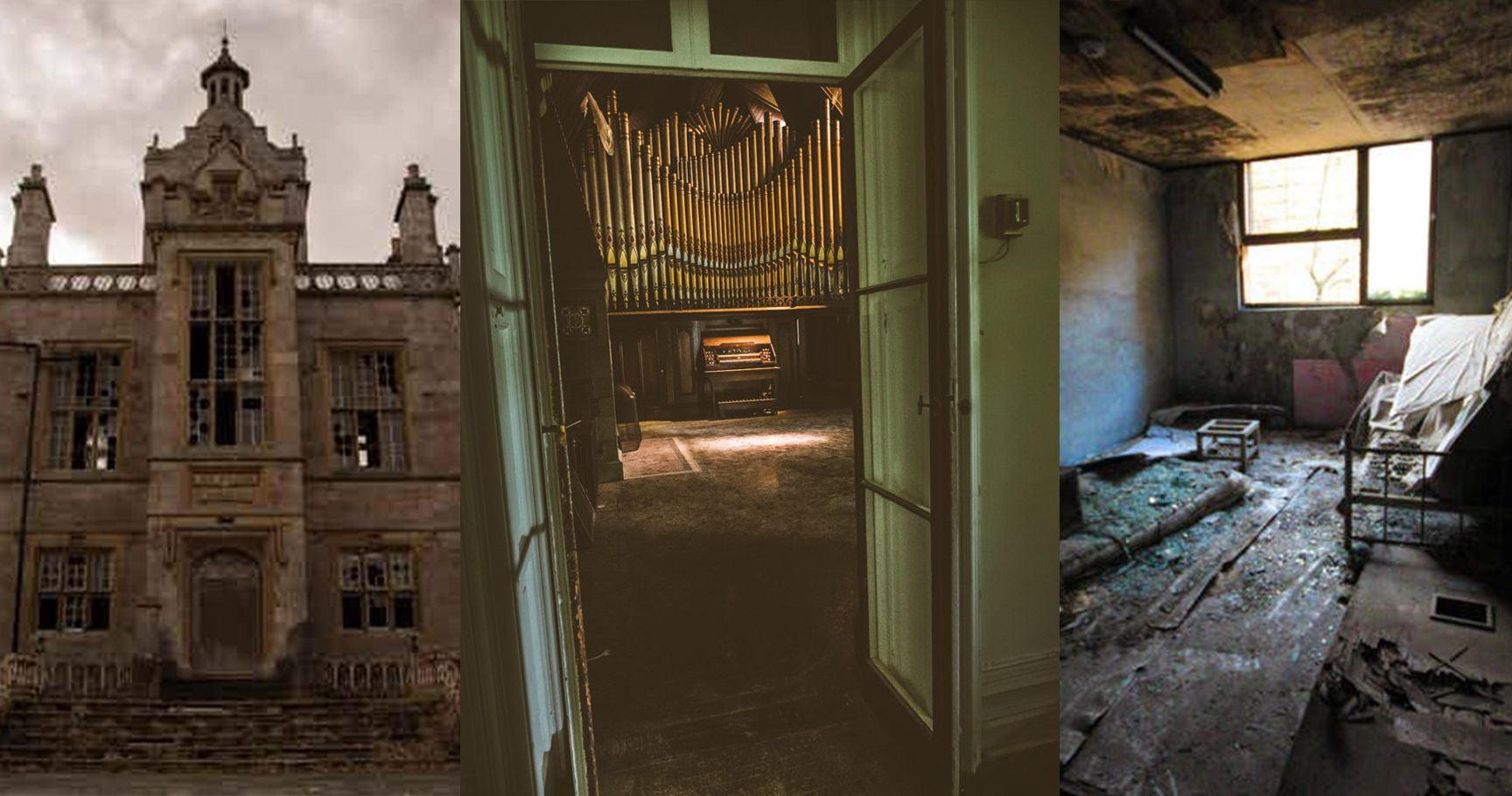 15 Chilling Photos Of Abandoned Mental Asylums