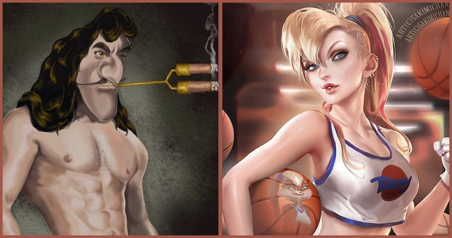 16 Steamy Reimagined Characters We'd Actually Be Attracted To
