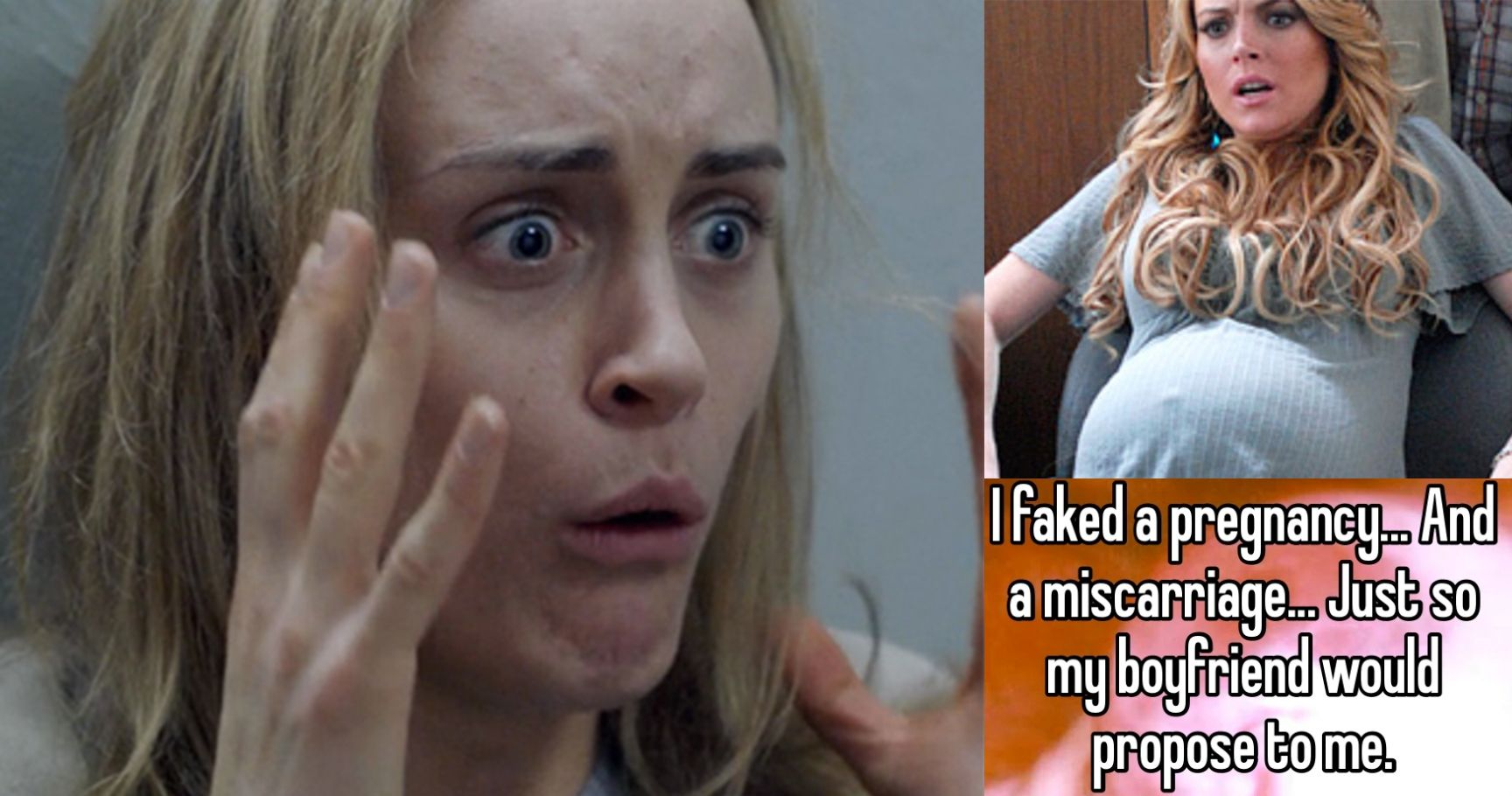 Whisper Confessions: 15 Terrible People Who Faked Pregnancies