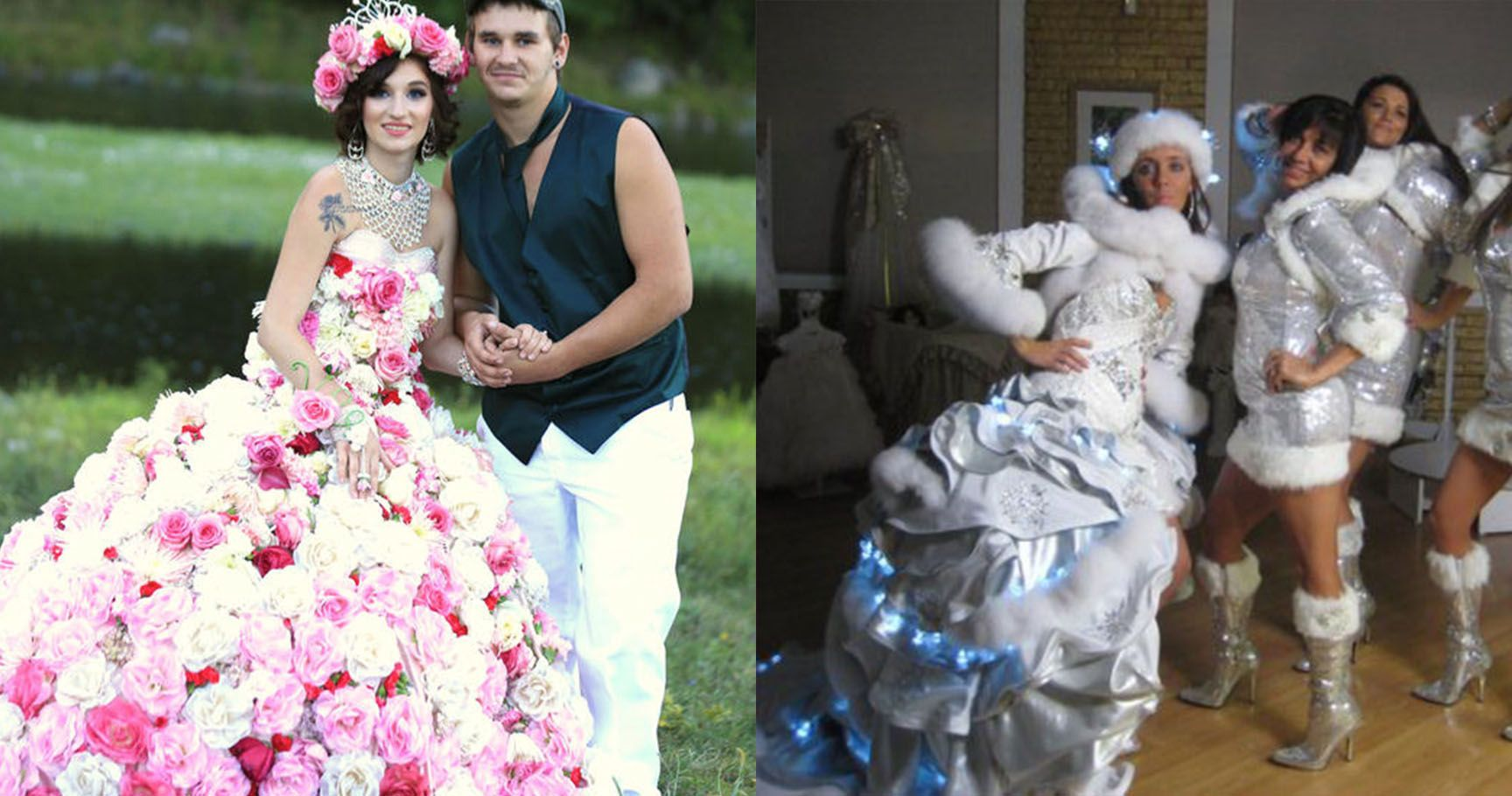 15 Most Extra Dresses From 'My Big Fat American Gypsy Wedding'
