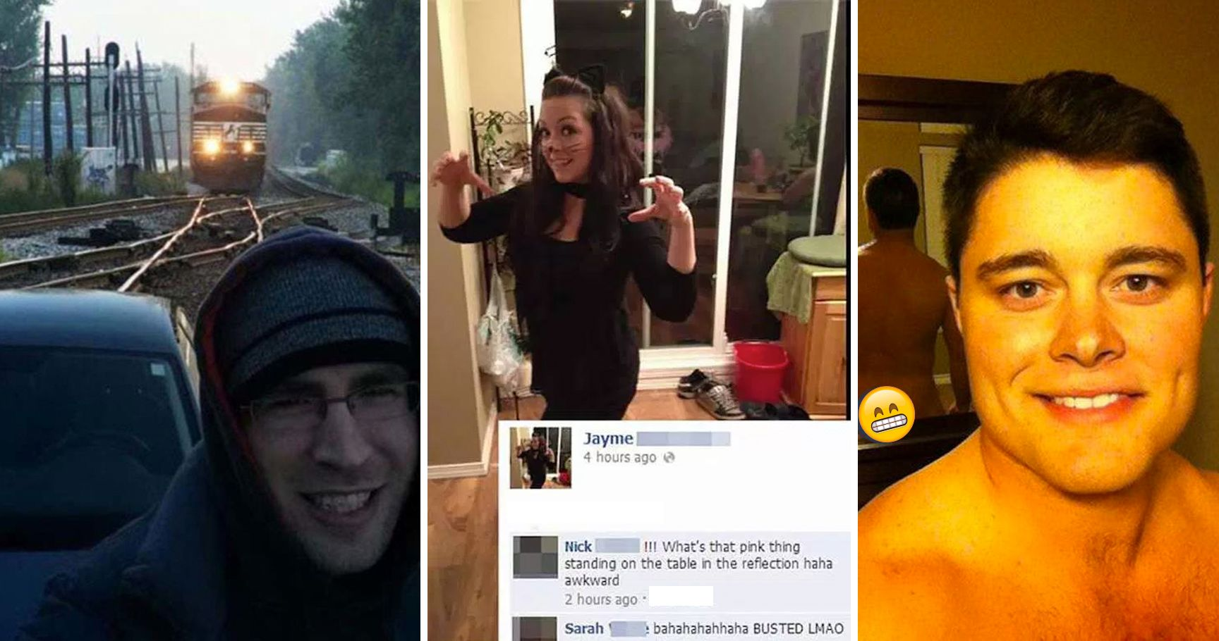 15 Embarrassing Selfie Fails That Desperately Needed A Background Check