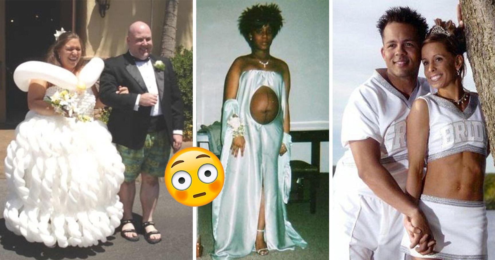 15 Wedding Dress Fails So Bad, They'll Make Anyone Reconsider Marriage