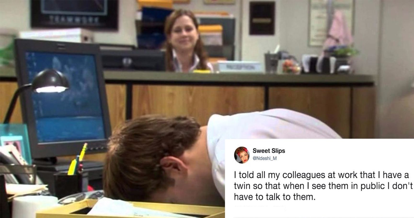 15 Hilarious Tweets From People Who Work In An Office