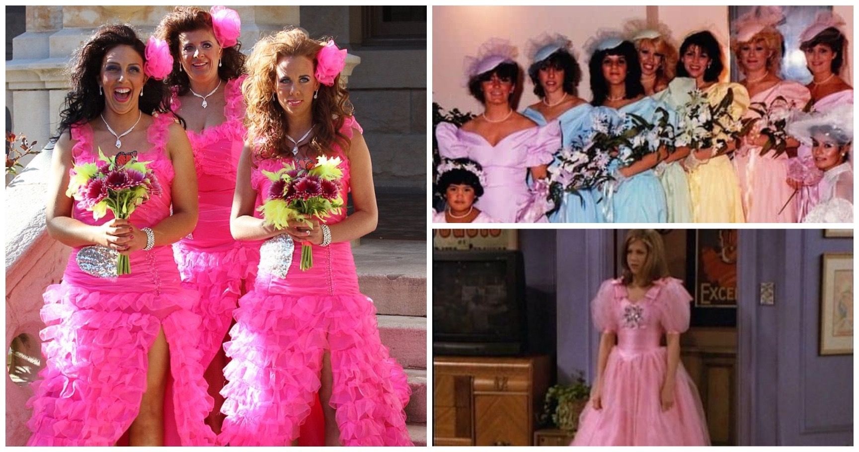 15 Horrendous Bridesmaid Dresses So Awful They'll Have You Rethinking Marriage