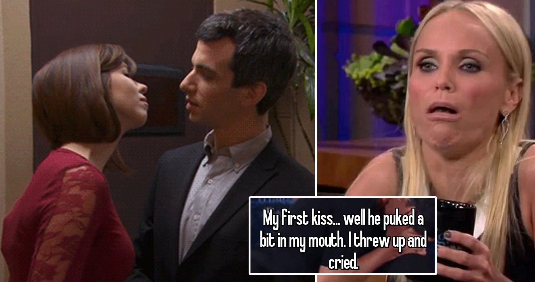 The 15 Worst Kiss Confessions These People Want To Forget