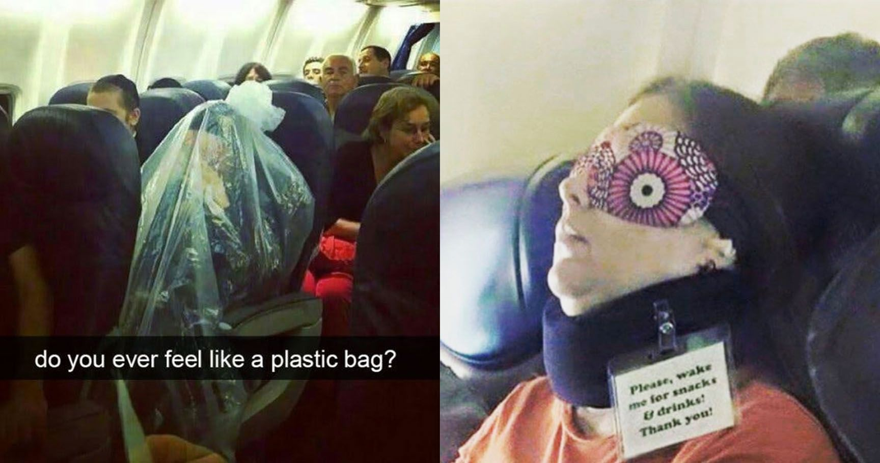 15 Genius Flight Passengers Who Are Winning At LIFE