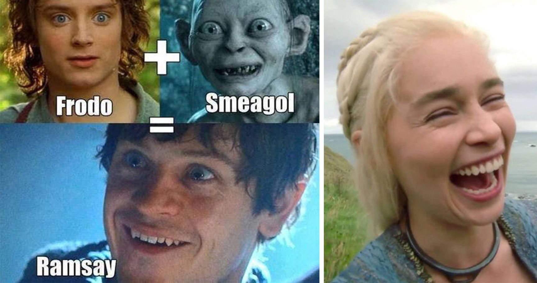 15 Hilarious AF 'Game Of Thrones'-'Lord Of The Rings' Crossover Memes That Will Have You Floored