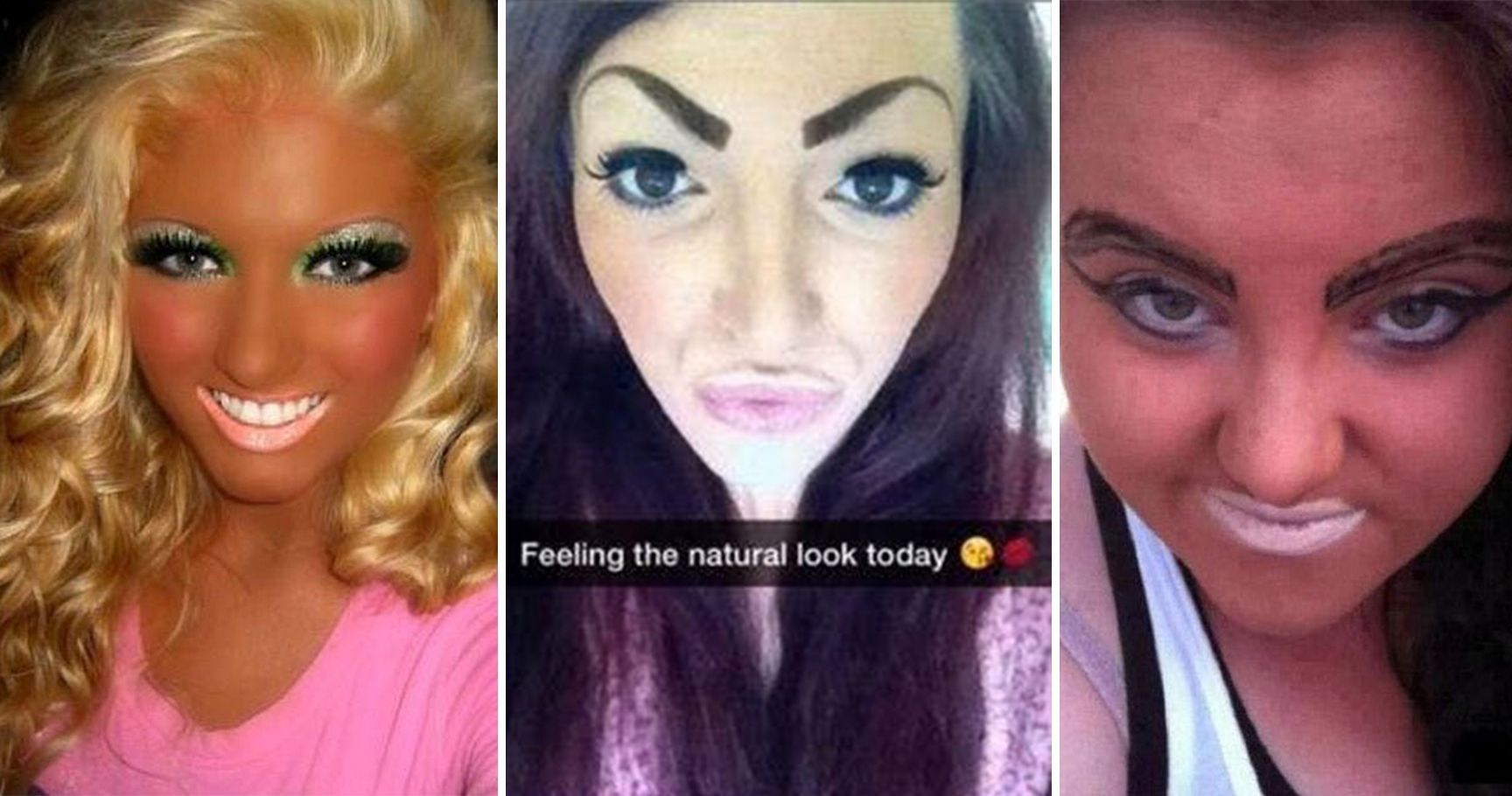 15 Disastrous Makeup Fails That Are An Embarrassment To The Internet