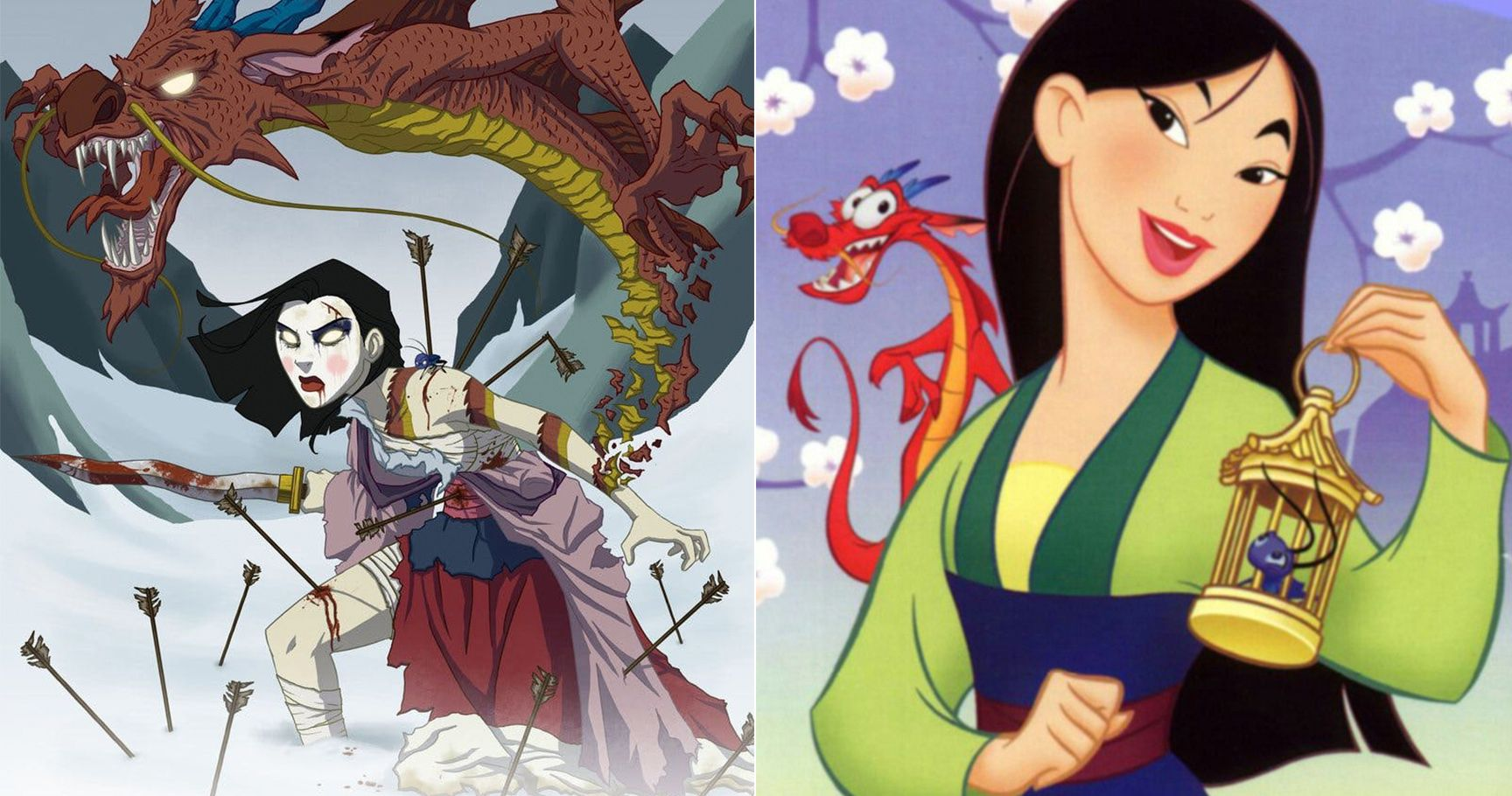 15 Twisted Disney Princesses Reimagined As The Stuff Of Nightmares