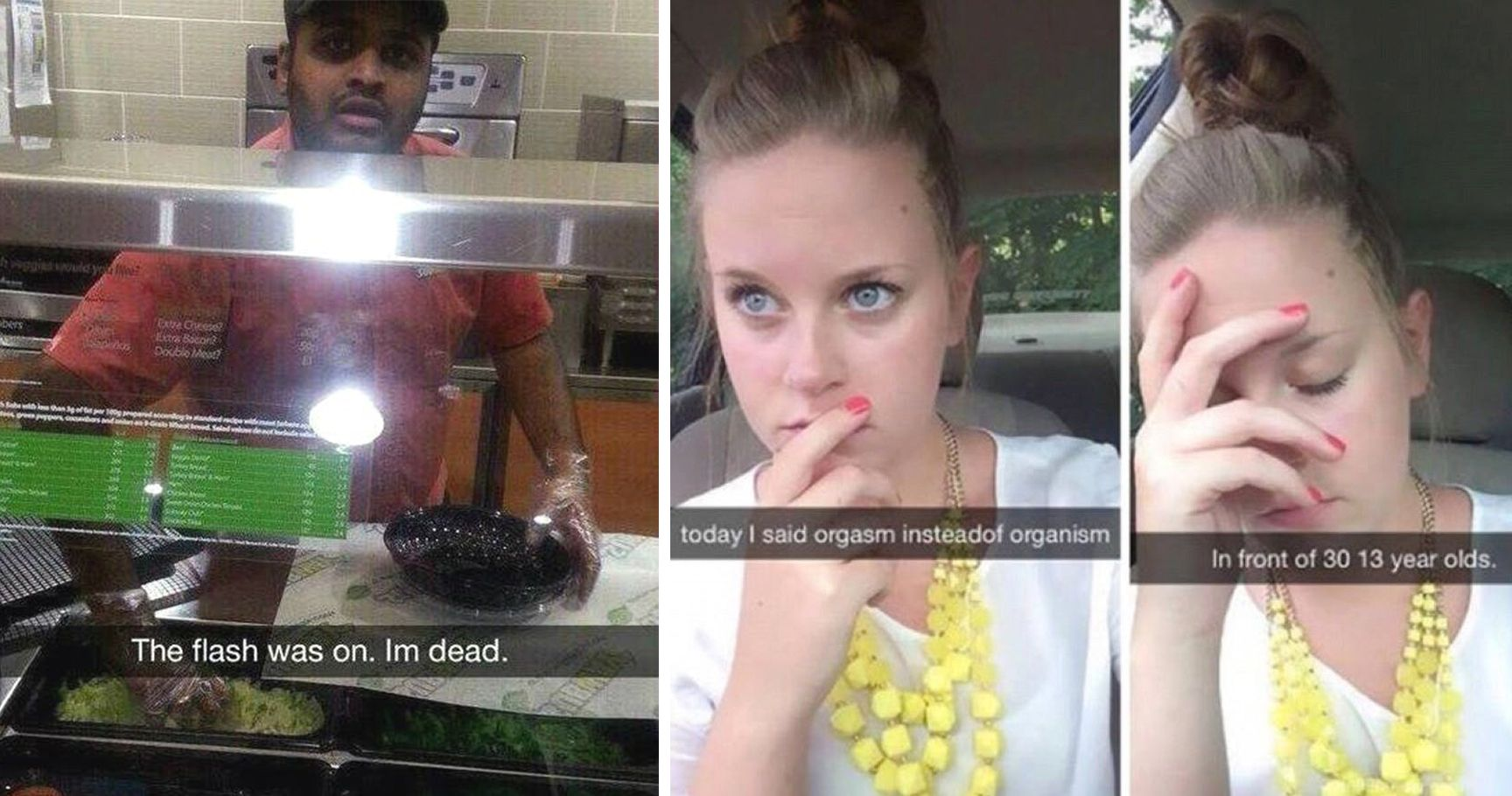 15 Snapchat Fails That Are Impossible To Live Down