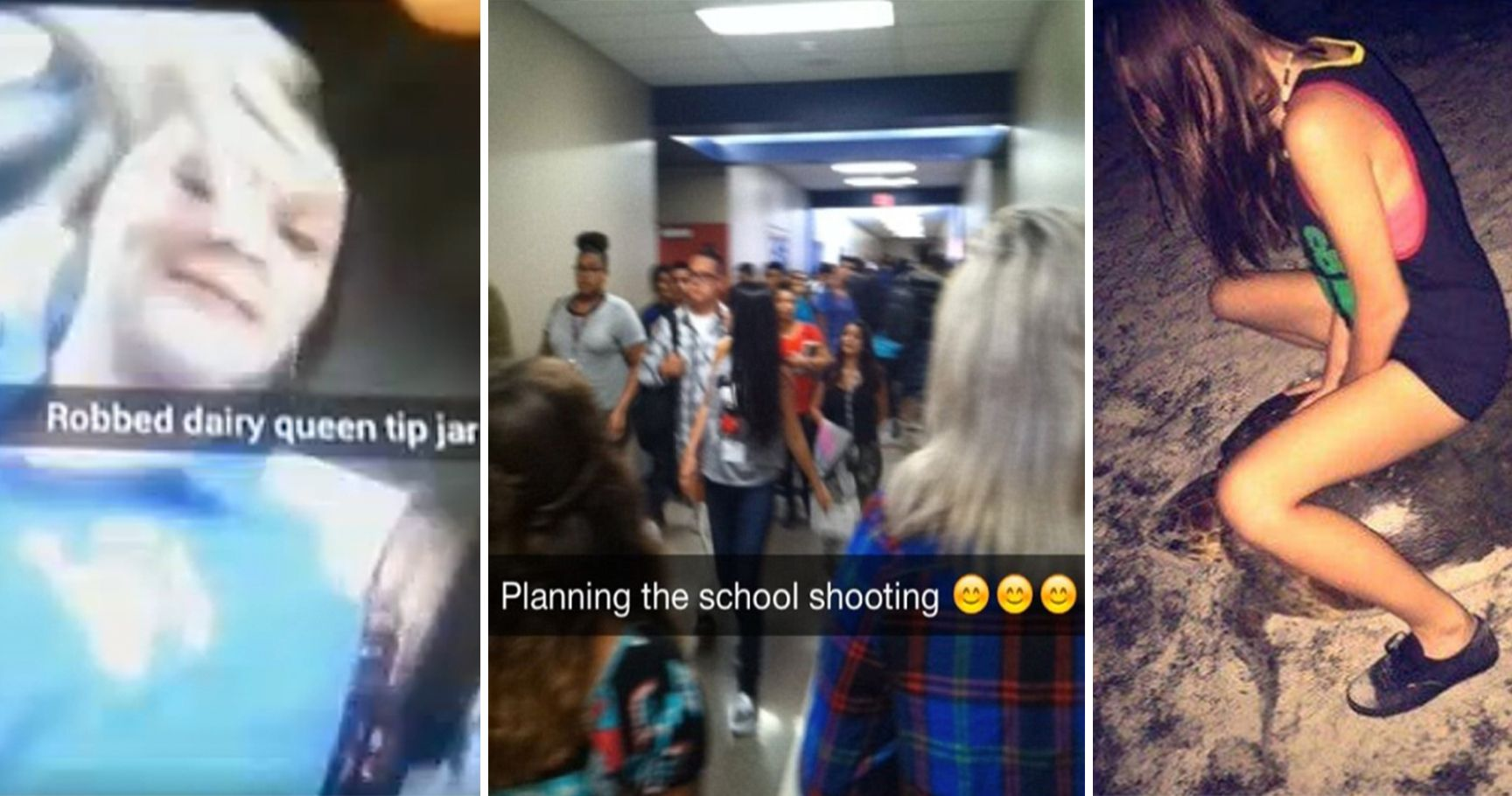 15 Appalling Snapchats That Got These Idiots Arrested
