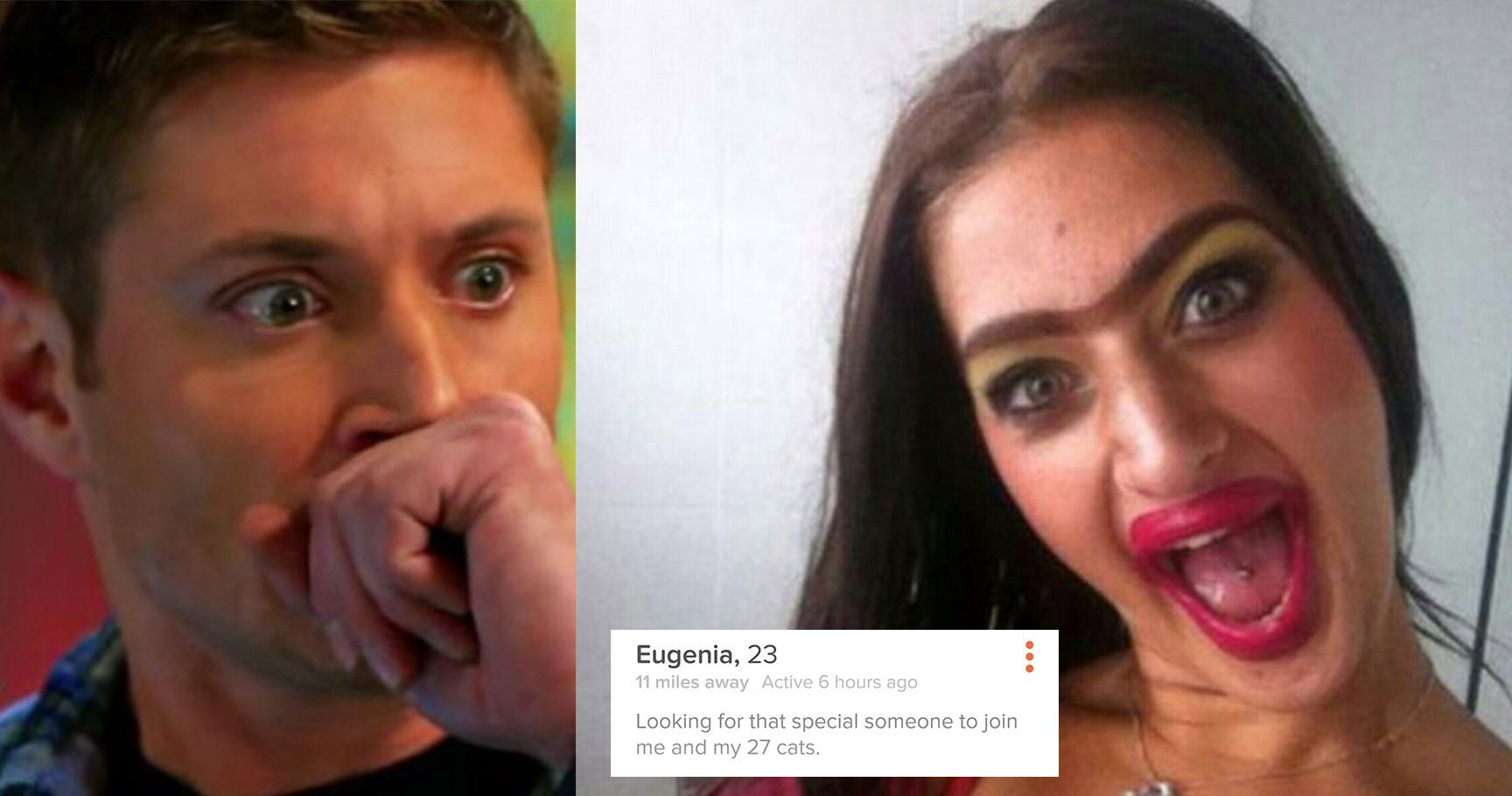 15 Terrifying Tinder Profiles From People Who Shouldn't Date. Ever.