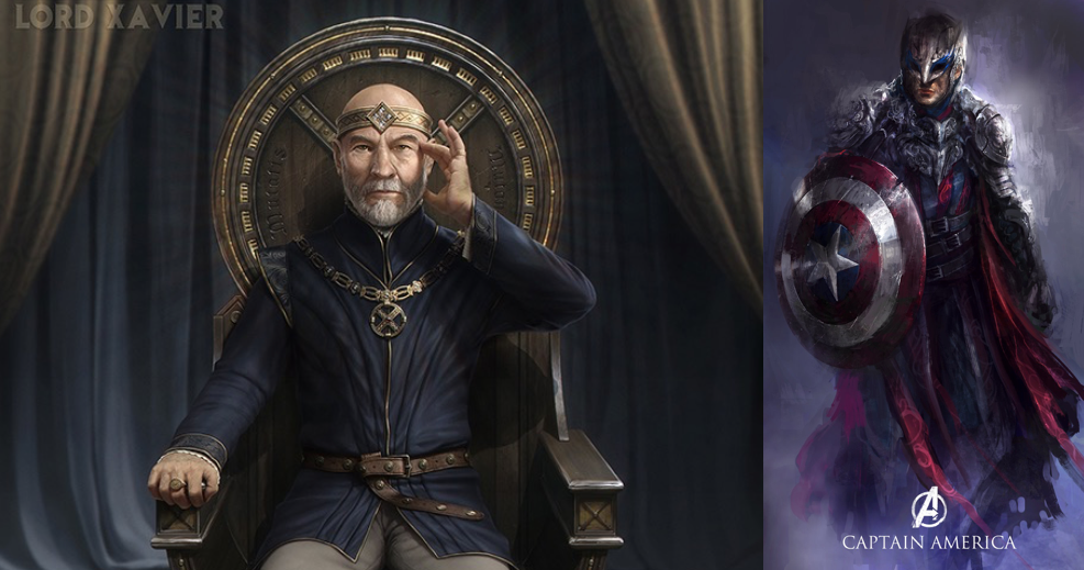 15 Marvel Characters Reimagined In The Medieval World That Will Make Your Jaw Drop