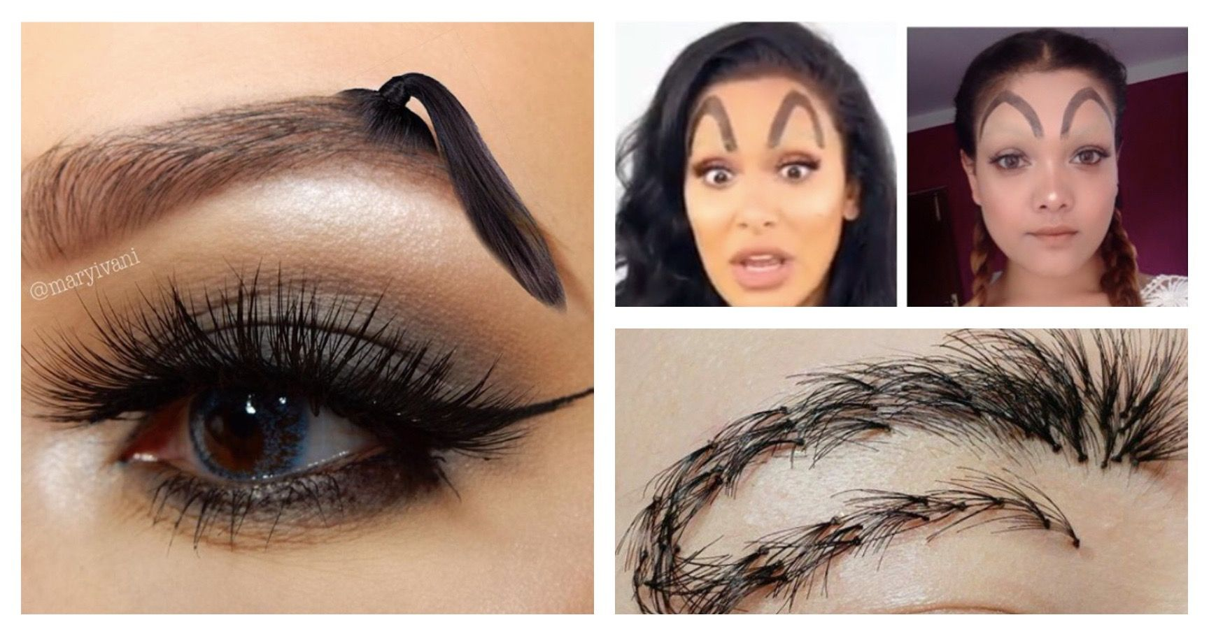 15 Eyebrow Trends That Shouldn't Exist