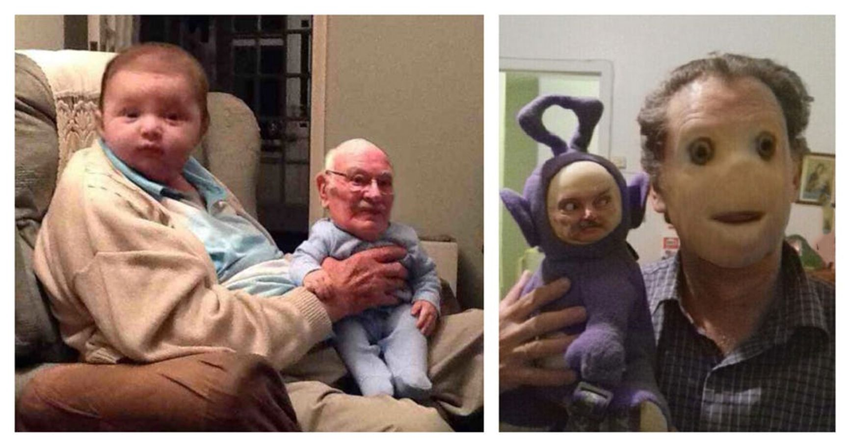 15 Face Swap Fails That Are Equal Parts Hilarious And Horrifying
