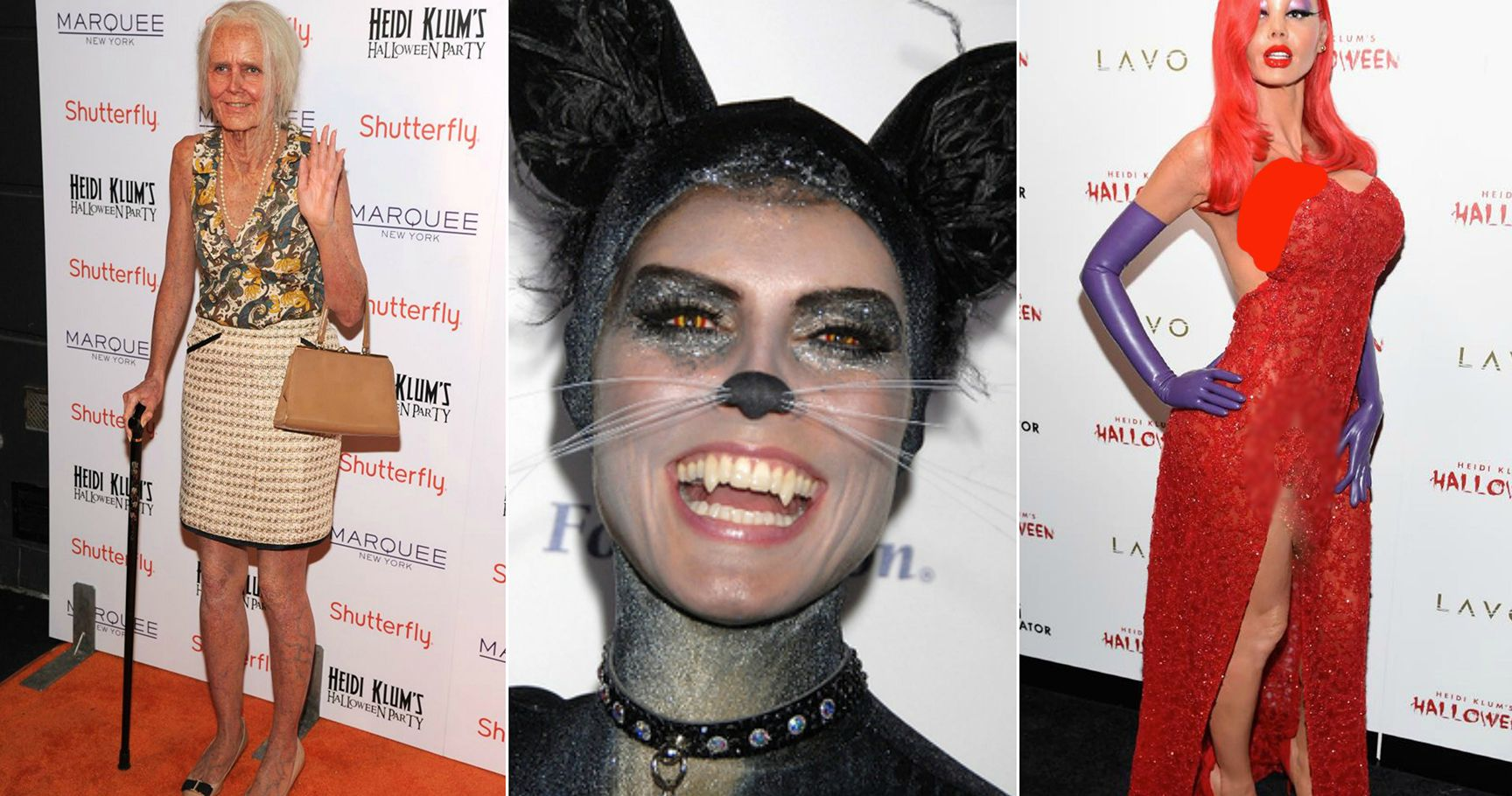 15 Times Heidi Klum Conquered The Halloween Costume Game