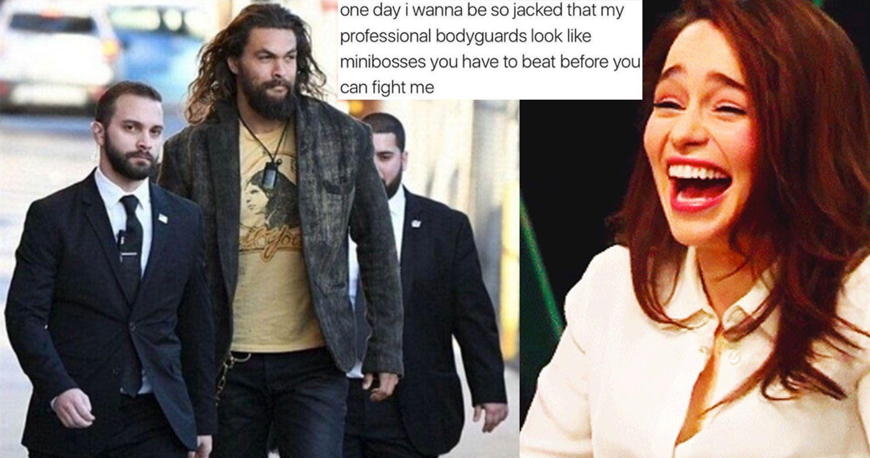 15 Jason Momoa Memes That Prove He's The Khal Of Memes