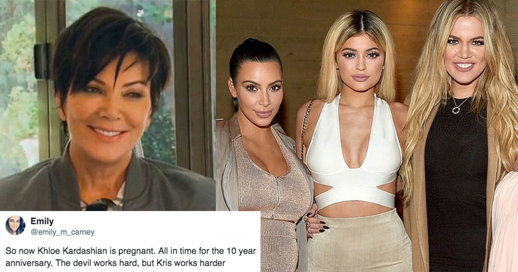 15 Hilarious Reactions To The Kardashian/Jenner Pregnancies