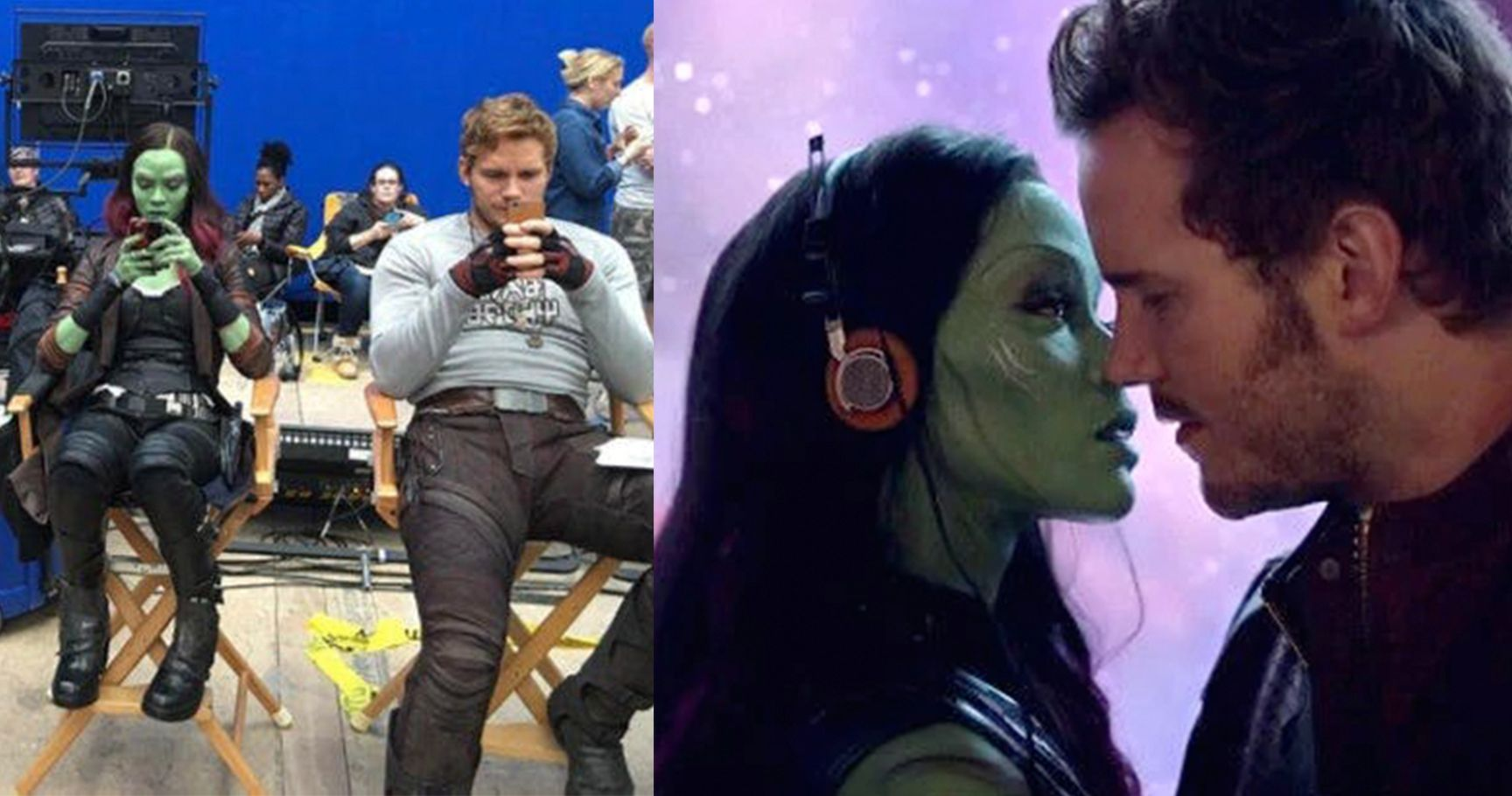 The Marvel Universe: 15 Behind-The-Scenes Photos You Can MARVEL At