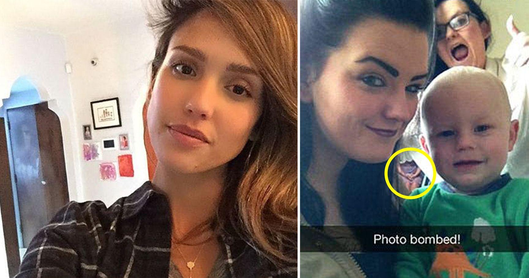 15 Selfies That Revealed Something Terrifyingly Sinister