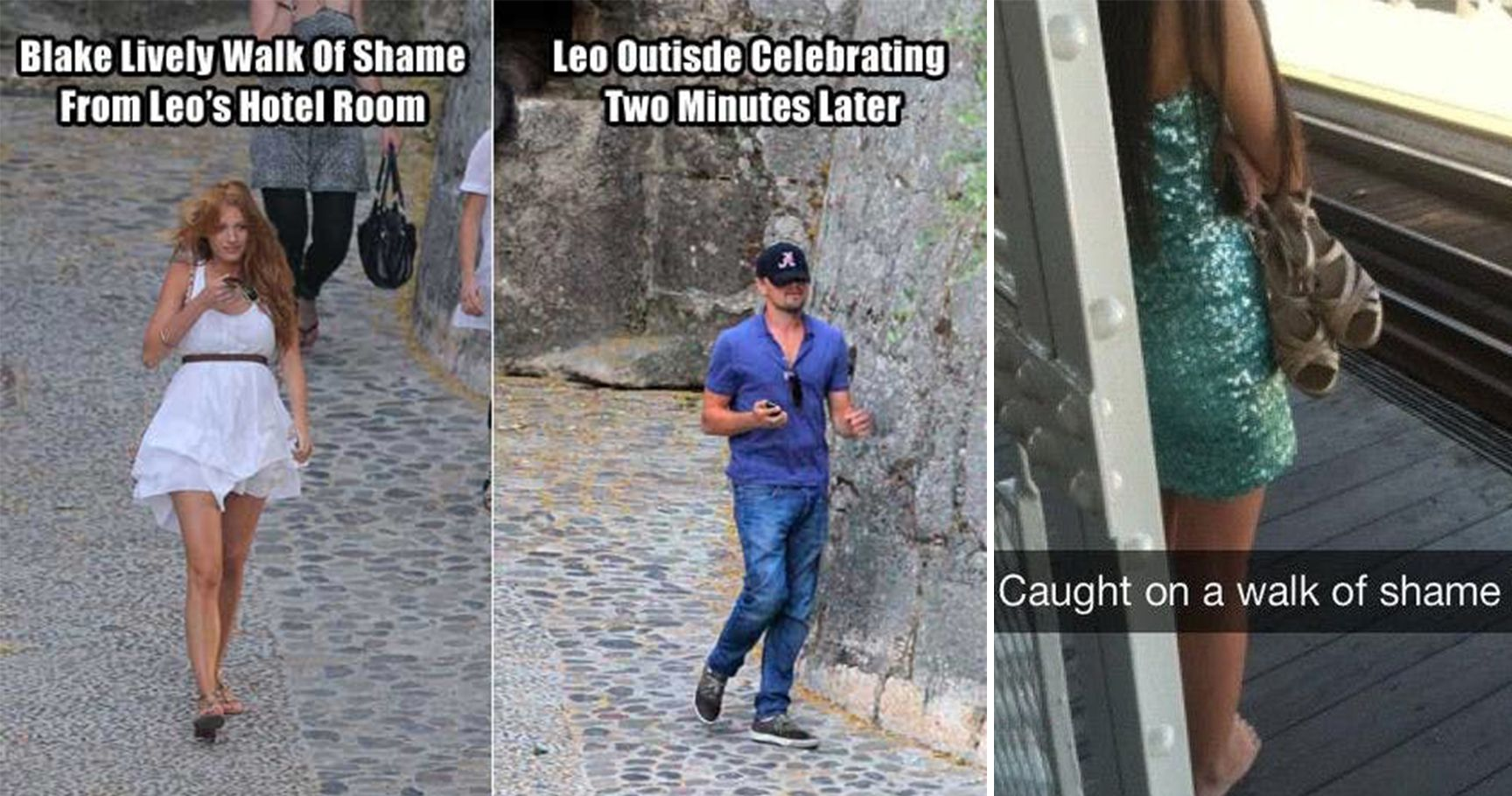 10 People Who Hilariously Did The Walk Of Shame Plus 5 Celebrities