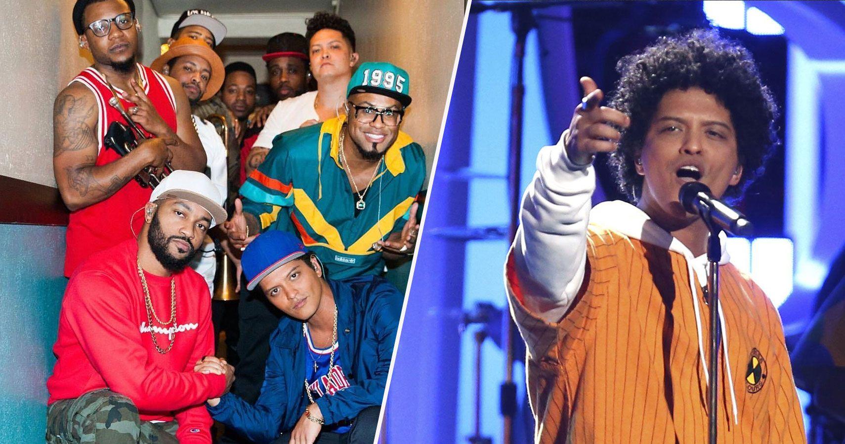 Meet The Hooligans: The Band Behind Bruno Mars' Showmanship