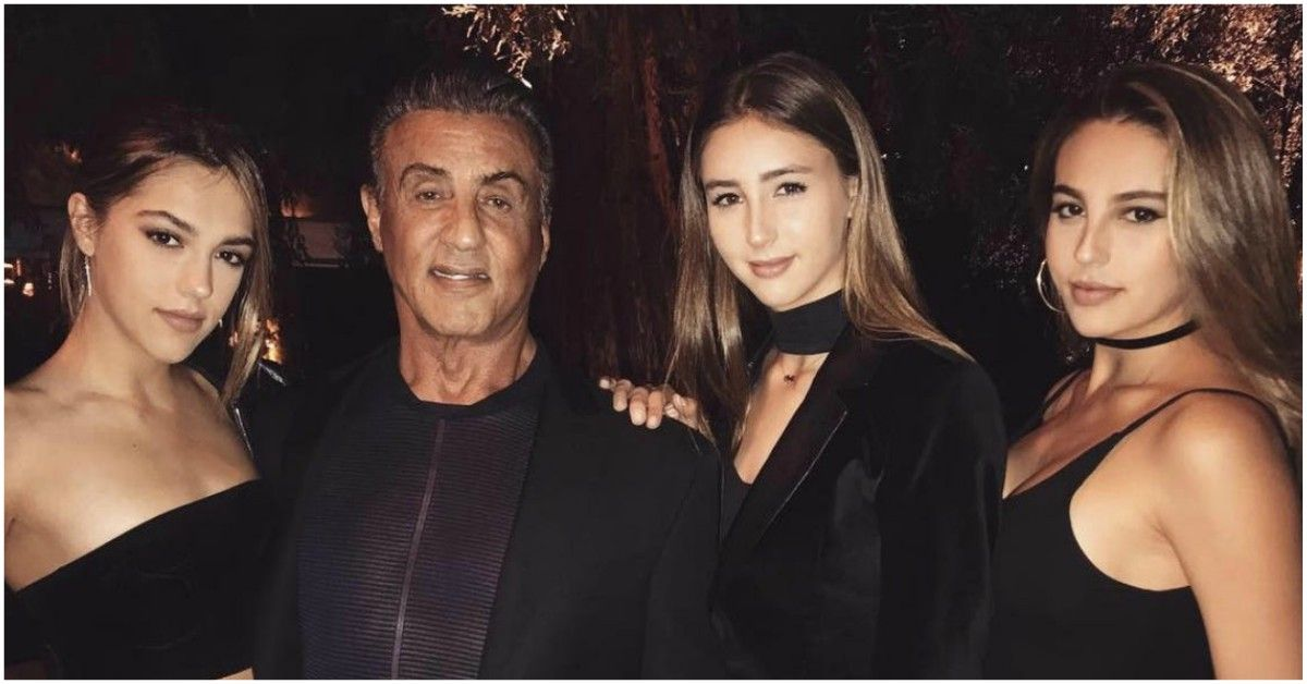 Who Is Sylvester Stallone's Youngest Daughter, Scarlet?