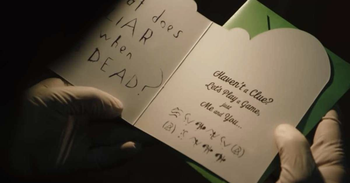 Two Batman Fans Already Decoded Riddler's Riddle From 'The Batman' Trailer