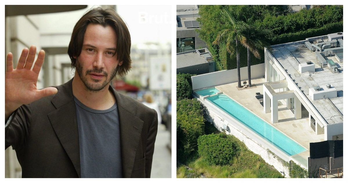 An Inside Look At Keanu Reeves' Beverly Hills Mansion
