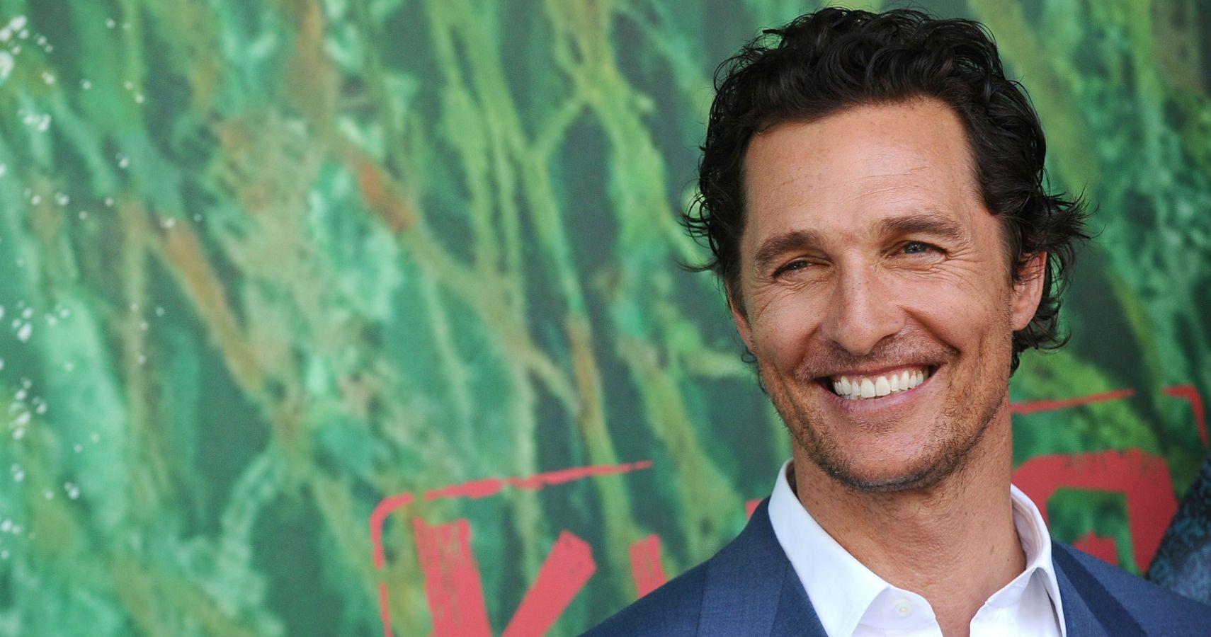 Matthew McConaughey Has a Secret Hobby, And It Involves Alcohol