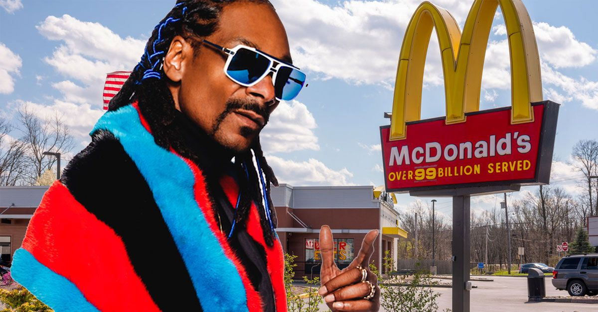 This Fabulous Video Has Fans Wishing 'The Snoop Dogg Meal' At McDonalds Was Real