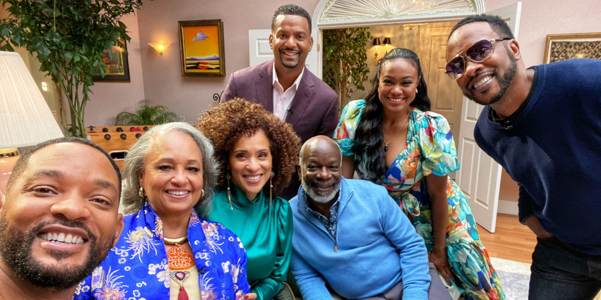 Will Smith Reunited With His 'Fresh-Prince' Family At The Bel-Air Mansion