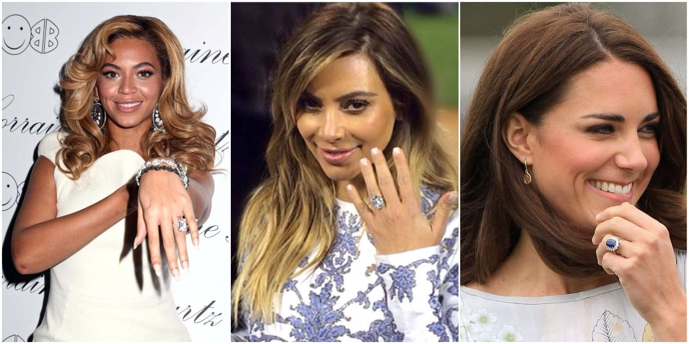 Yes, I Do: 10 Celebrities With Ridiculously Expensive Engagement Rings