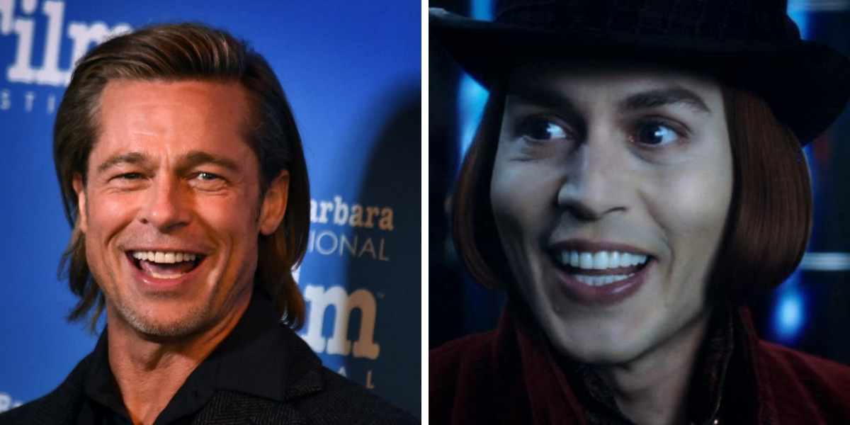 How Close Was Brad Pitt To Playing Willy Wonka?